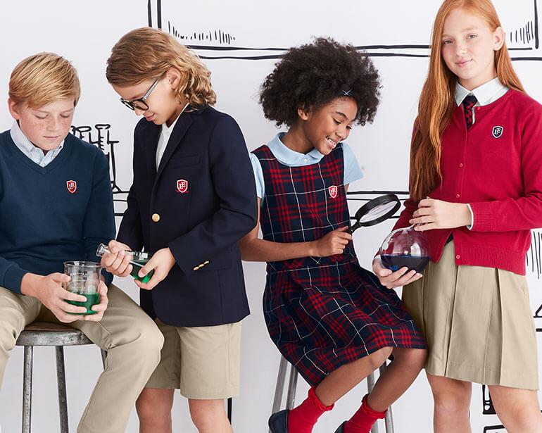 School Uniforms School Uniform Store Girls Boys Lands End