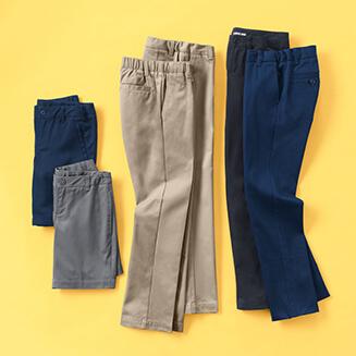 Charter School Uniform Boys Navy Blue Pants Size 20