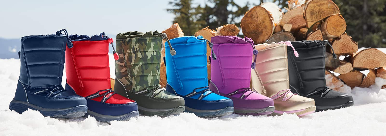 Kids' Boots in Good Shape All Winter