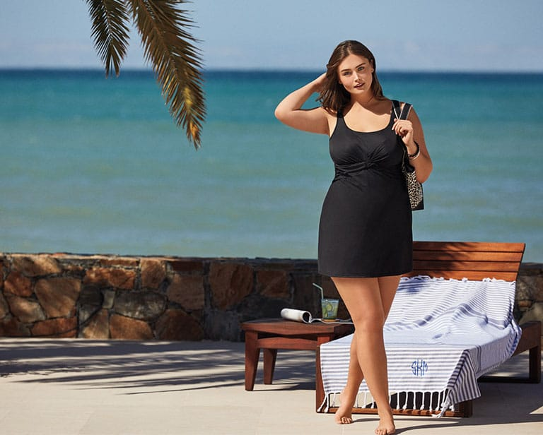 Are Swim Dresses Good for Curvy Figures?