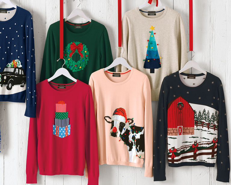 Matching Family Christmas Sweaters for Holiday Pictures | Lands' End