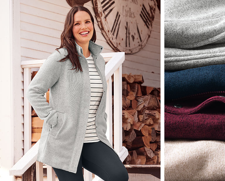 Warm & Windproof - Best Fleece Jackets for Women