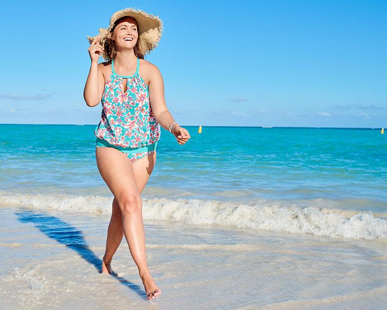 43d342898ba Best Plus Size Swimsuits for a January Getaway | Lands' End