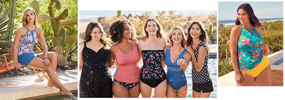 Best Fitting Plus Size Tankini Styles That You'll Love