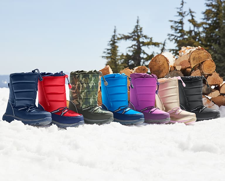 Top Five Boots to Help Your Child Brave Any Storm | Lands' End | Lands' End