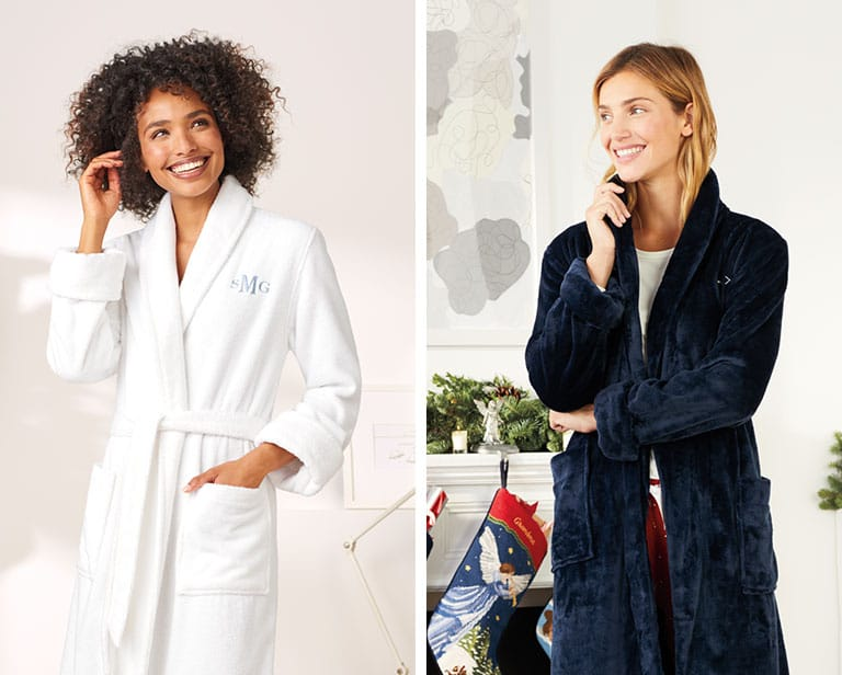 7c460f87a7 How to choose the best bathrobe between Terry Cloth or Fleece
