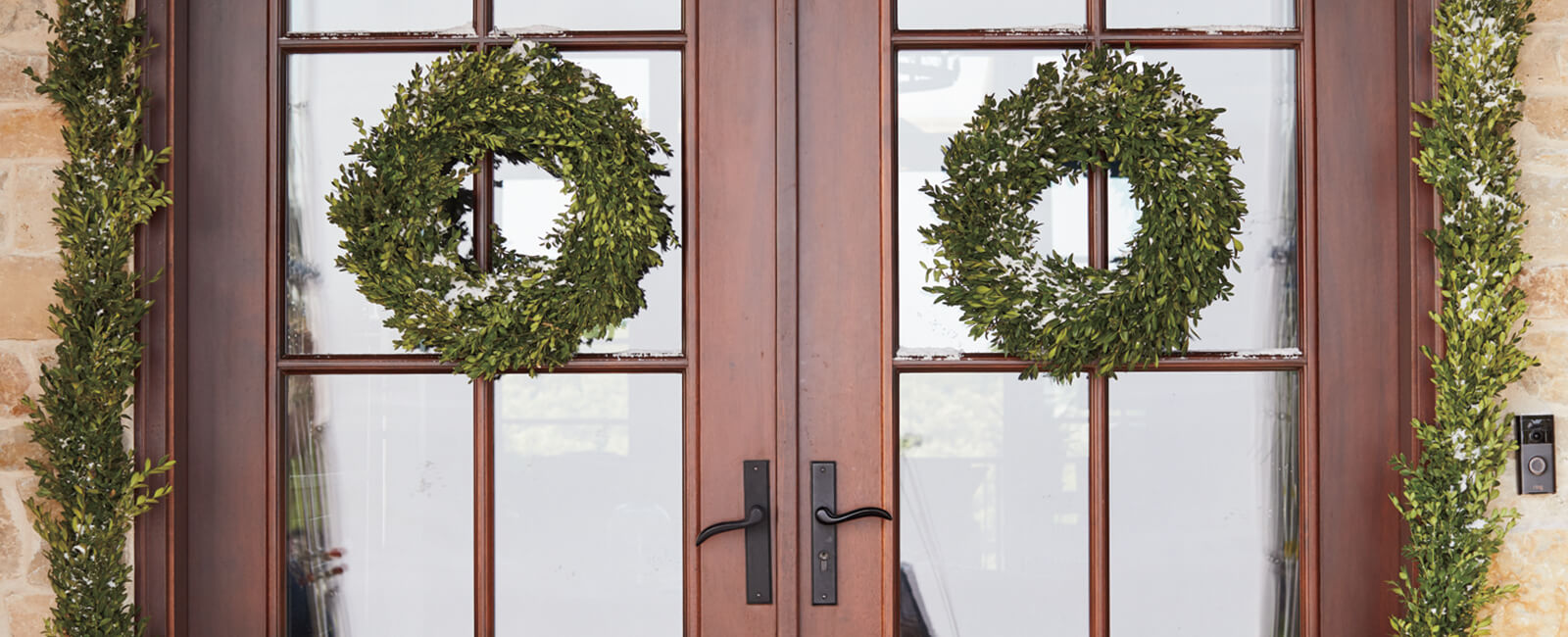 Decorate Doors for the Holidays