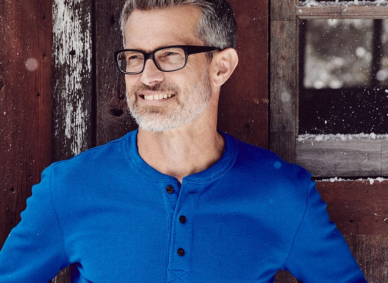 Men's Henley Shirts: A Cold Weather Essential | Lands' End