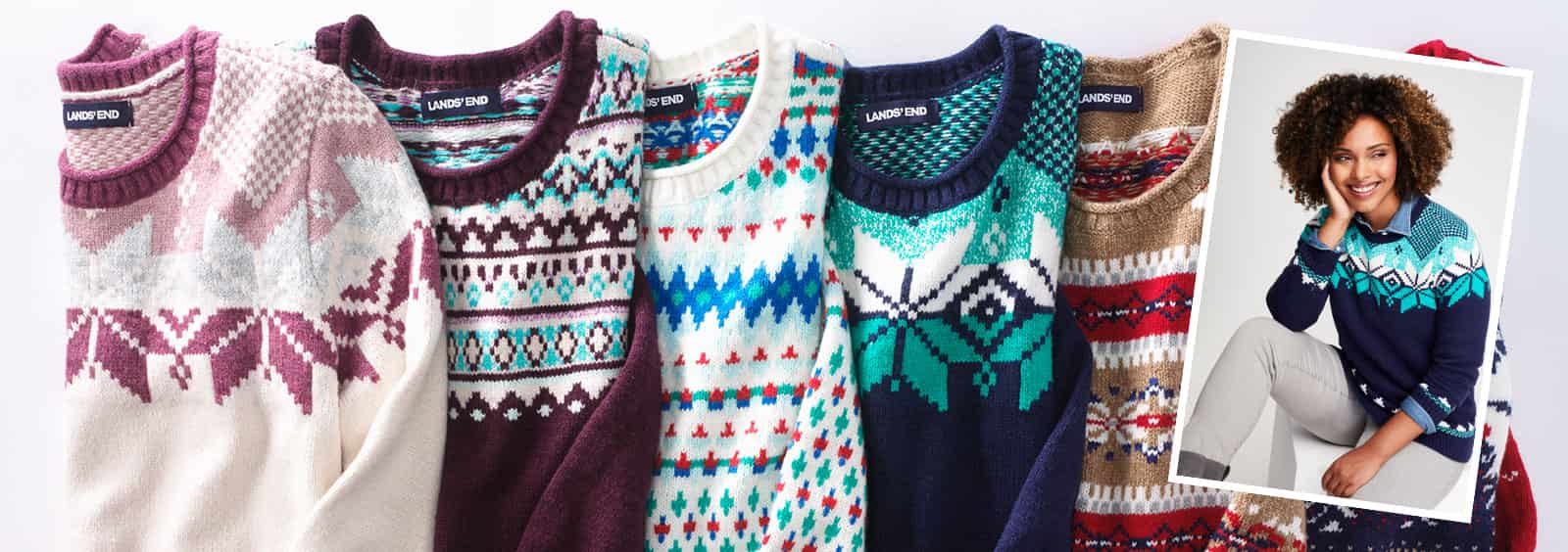our favorite christmas sweater prints