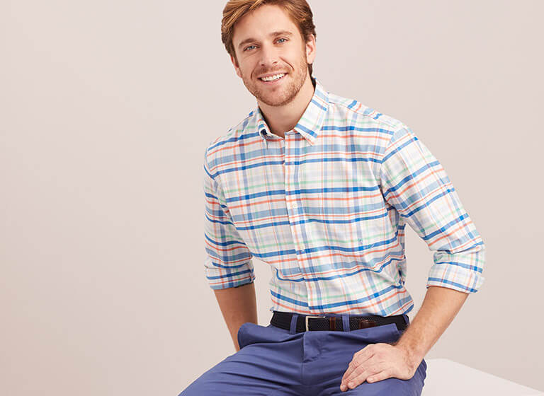 The Perfect Dress Shirt for Him | Lands' End