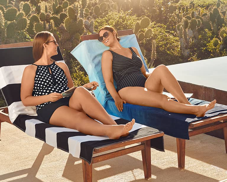 Bring Back Retro with These Plus-Size Bathing Suit Trends