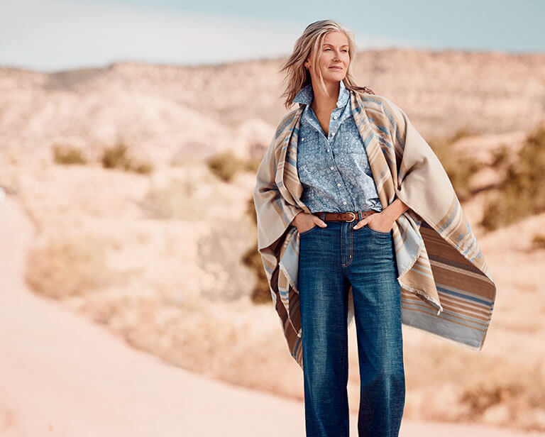 Styling Tips: How to Wear a Shawl Wrap