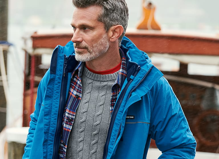 Trendy Men's Jackets and Coats | Lands' End