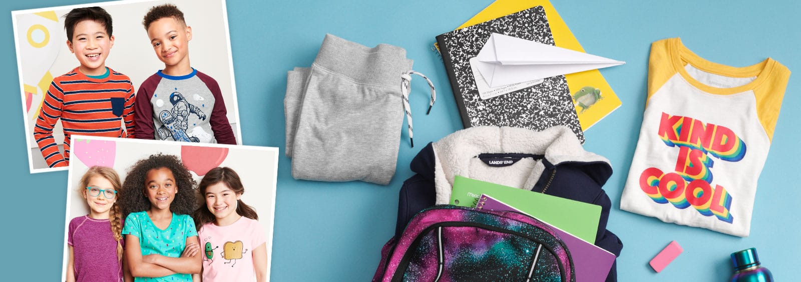 The Beginner's Guide to Back-to-Preschool Shopping | Lands' End