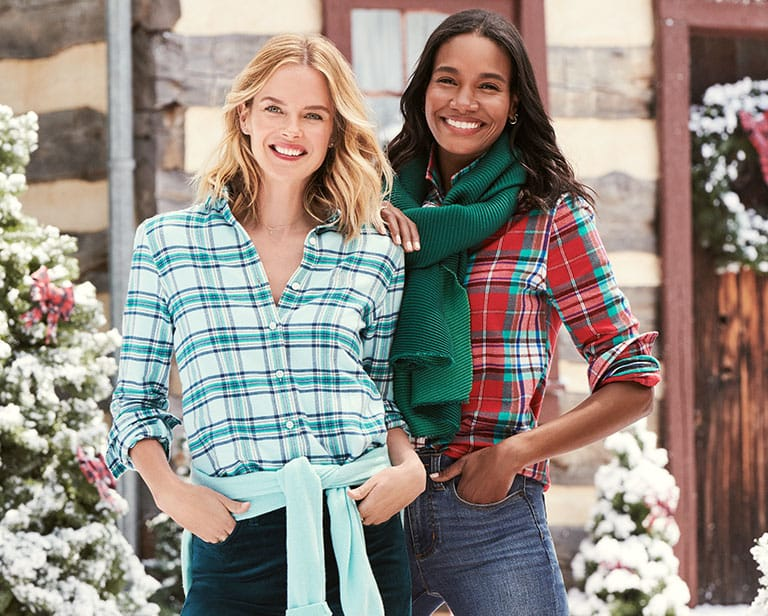 The Perfect Flannel Shirt for Any Christmas Party | Lands' End