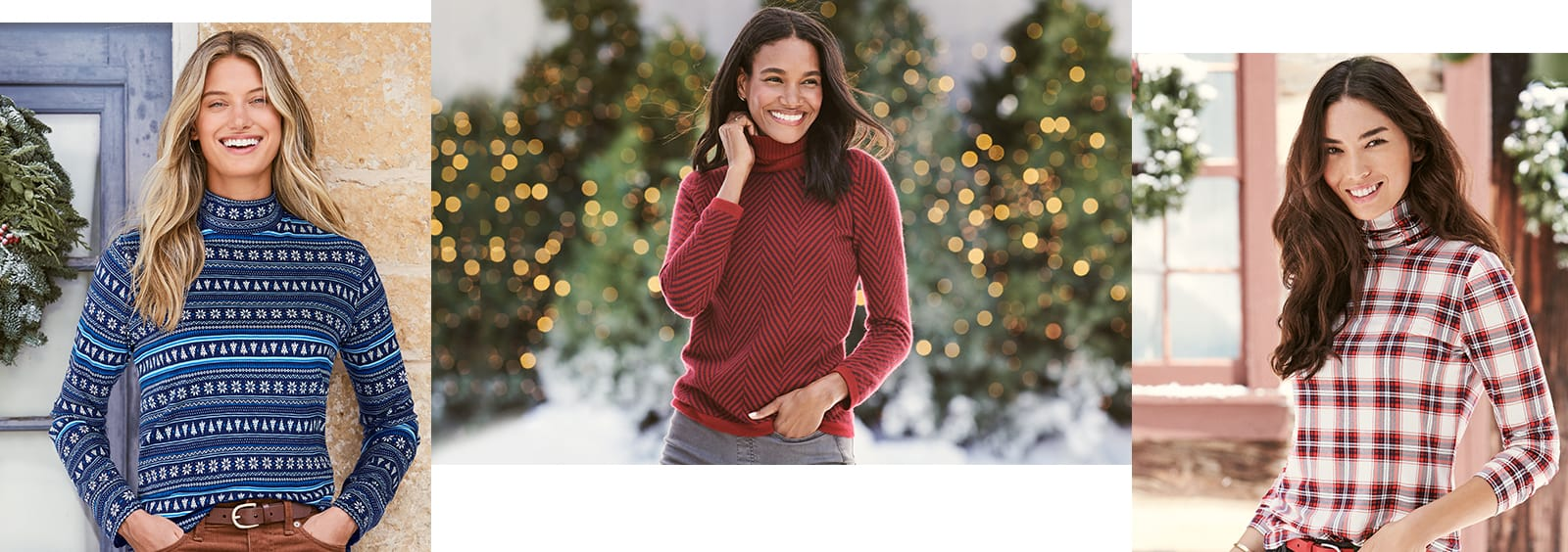 Women's turtlenecks
