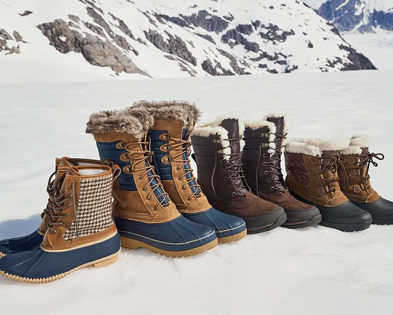 Winter Boots for Slippery Conditions