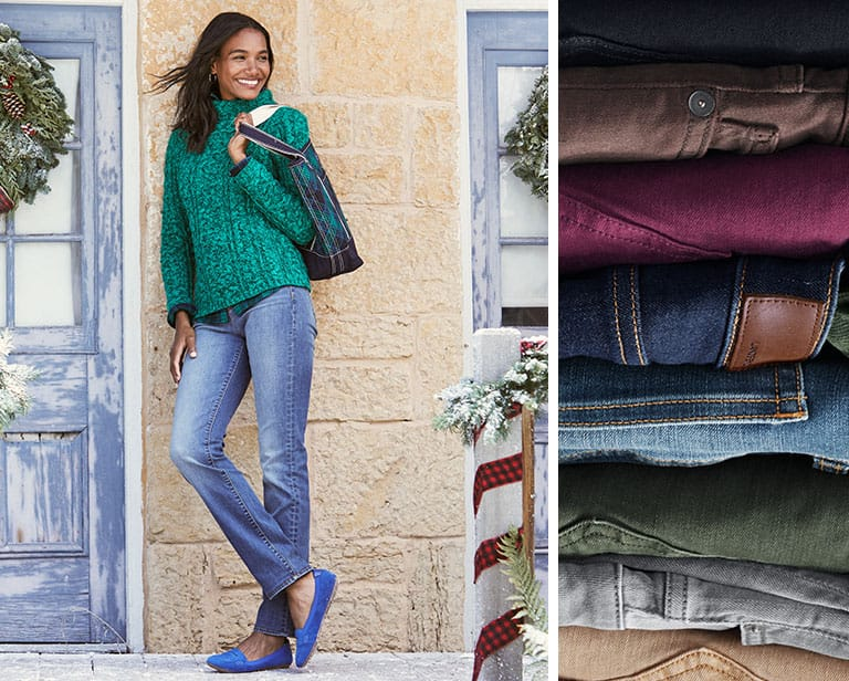 Your Guide to Choosing the Right Pair of Jeans this Fall | Lands' End