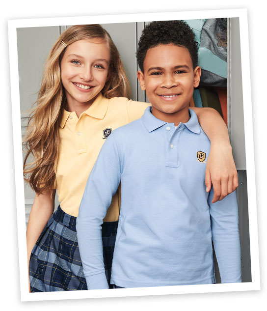 Which School Uniform Polo Shirt Is Right For Your Kids Lands End