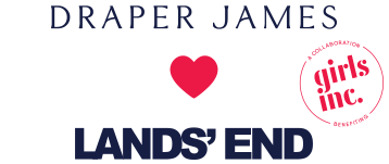 Draper James & Lands' End | A collaboration benefiting Girls Inc.