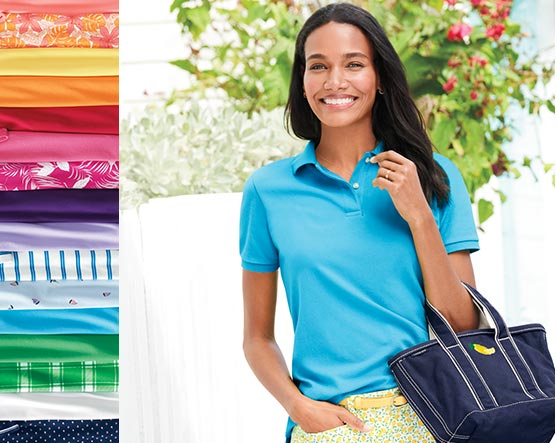 120644e66 Lands' End: Swimwear, Polo Shirts, Jeans, Fit and Flare Dresses, Tops