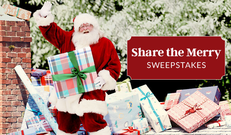 Share the Merry Sweepstakes
